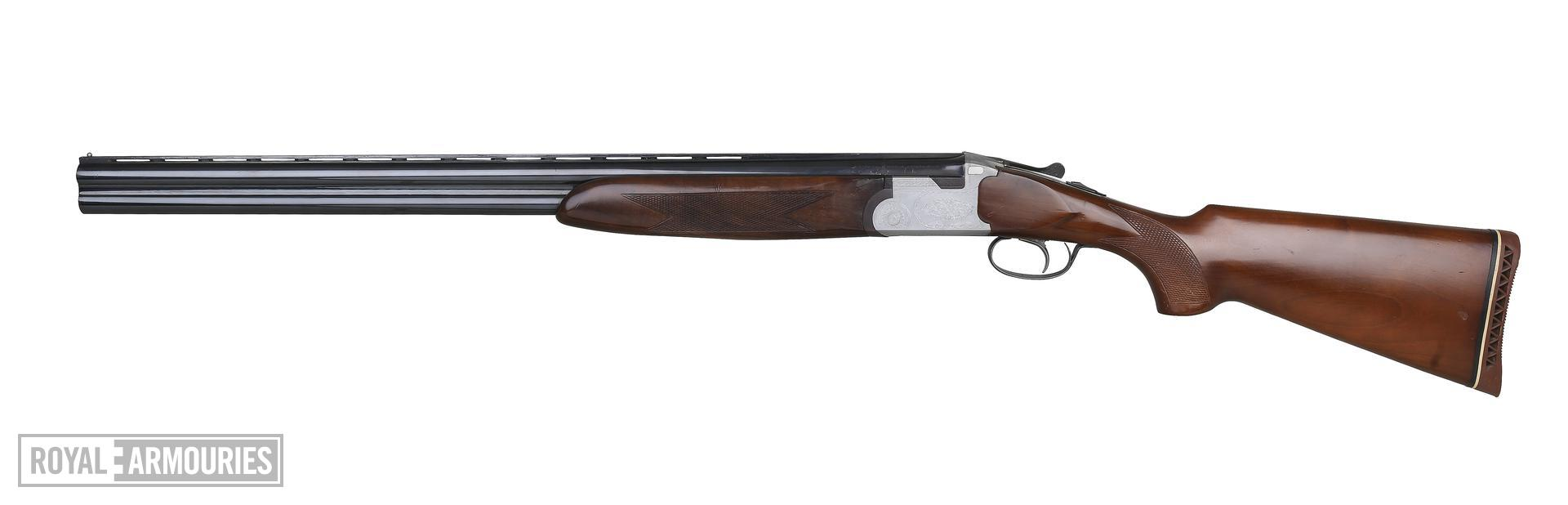 Centrefire breech-loading double-barrelled shotgun By Arizaga. (XII.7159)