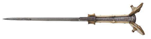 Thumbnail image of Ear dagger. Italian, 16th century. X.258
