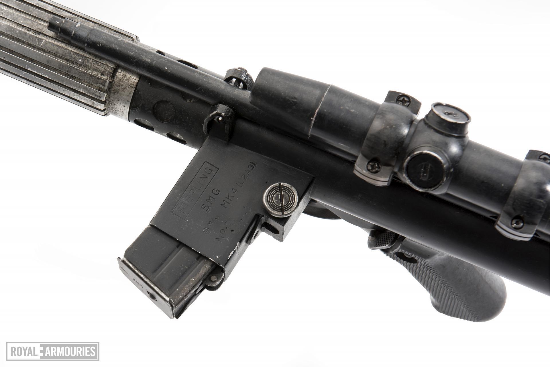 Rebel Blaster from the movie Star Wars