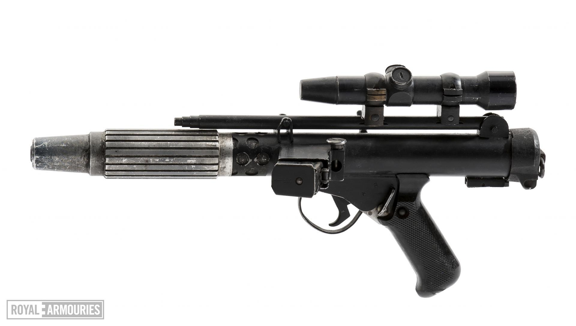 Rebel Blaster from the movie Star Wars