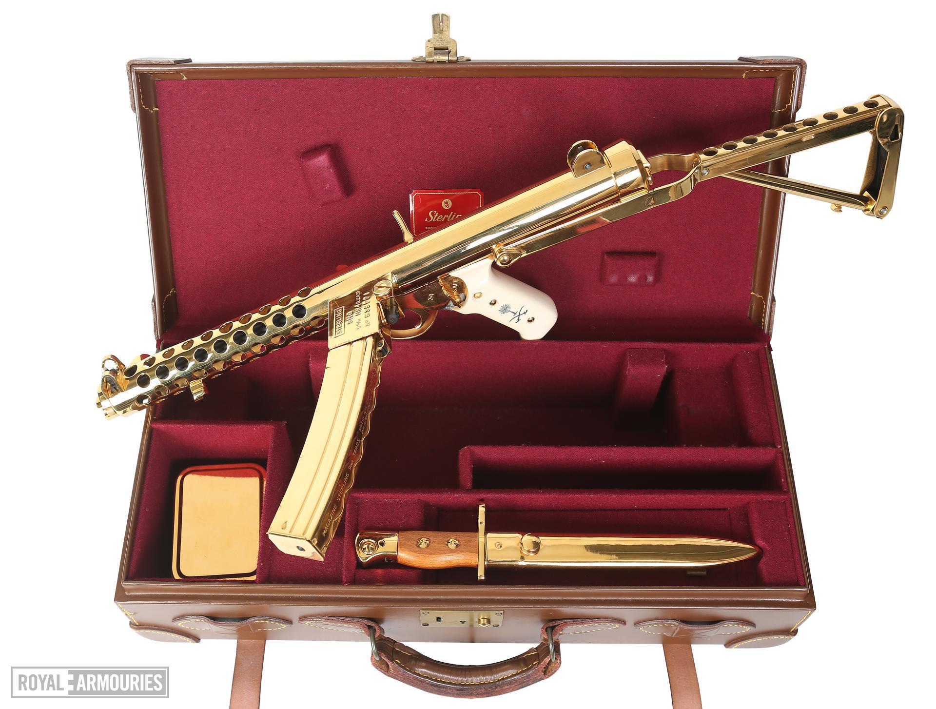 Sterling Mk.4 (L2A3). Gold Presentation model