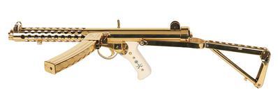 Thumbnail image of Sterling Mk.4 (L2A3). Gold Presentation model