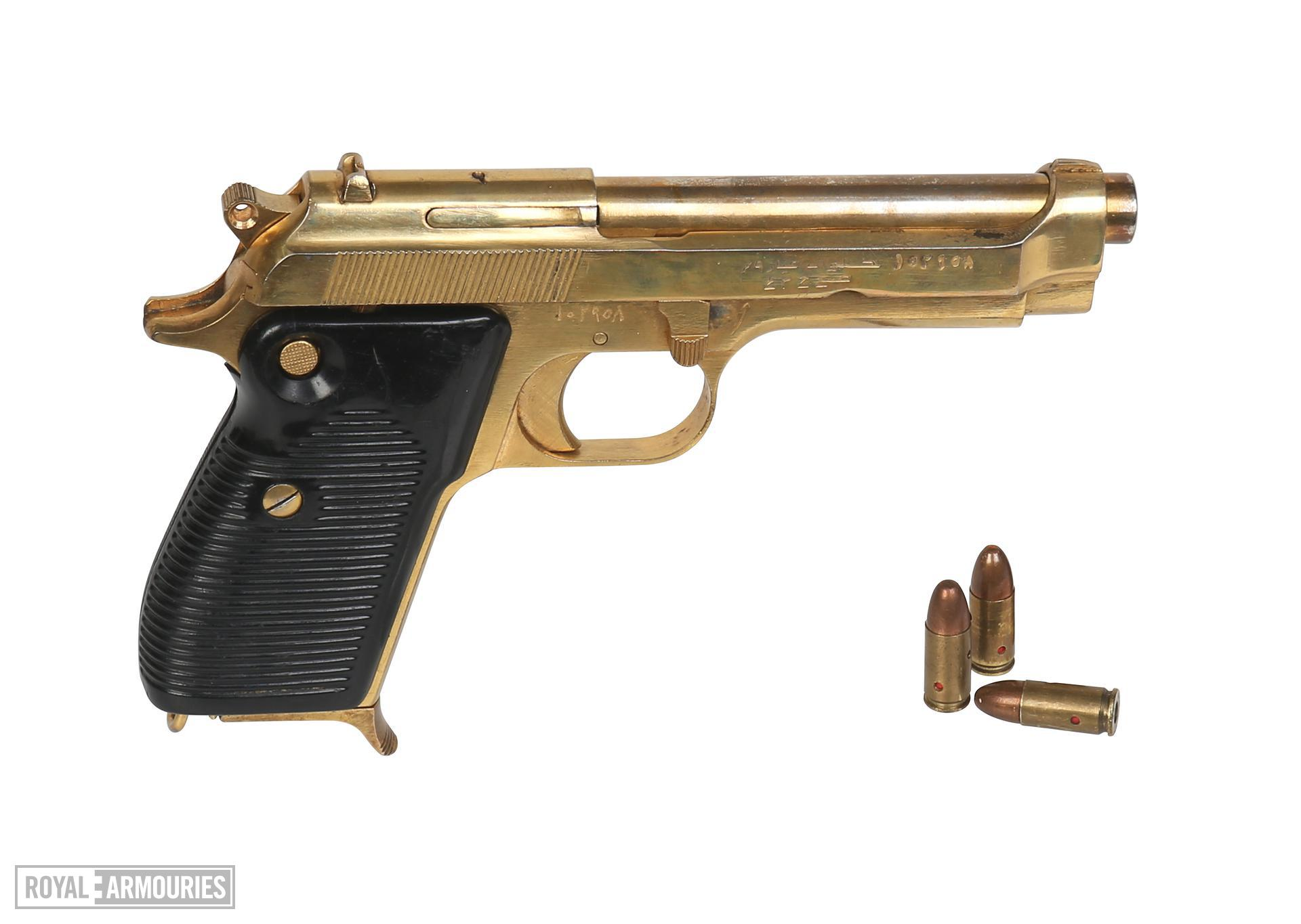 Gold plated Walther Model PP