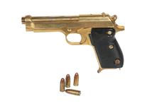 Thumbnail image of Gold plated Walther Model PP