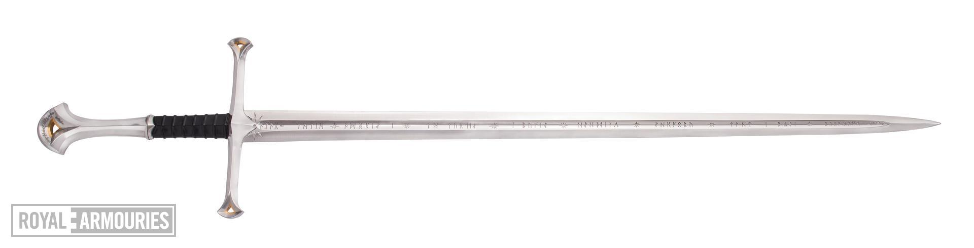 Anduril the flame of the West; Sword of Aragorn