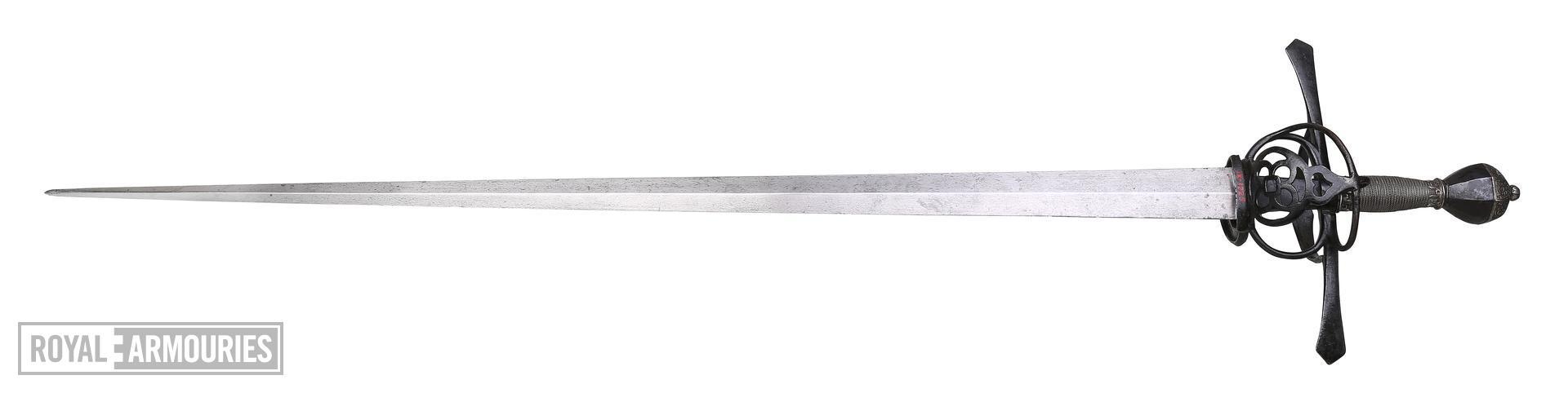 Saxon Estoc Sword. 1570-1590