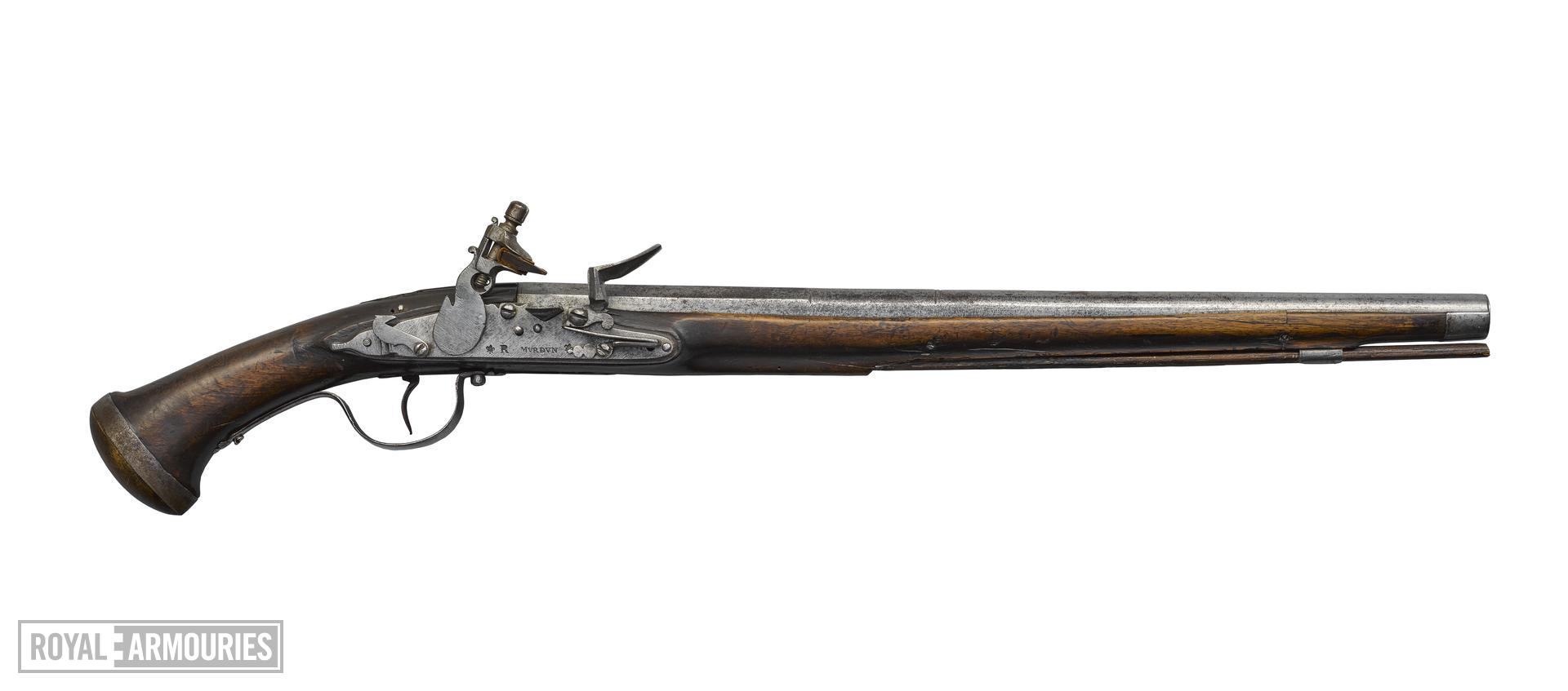 Flintlock pistol By Murden. Littlecote collection. XII.5414