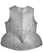 Thumbnail image of Pikeman's breastplate and tassets. III.4178
