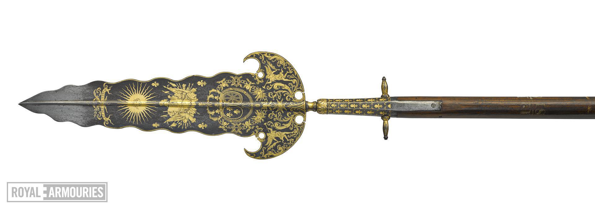 Partizan of the Gardes du Corps of Louis XIV. VII.1358