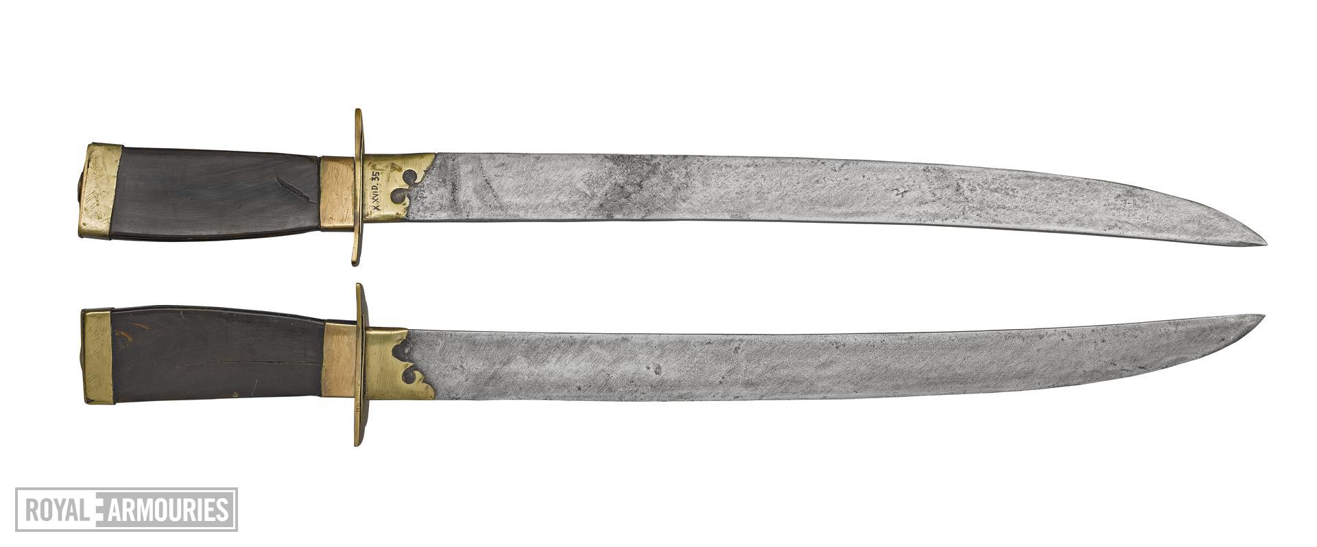 Double swords (shuangdao) XXVID.35