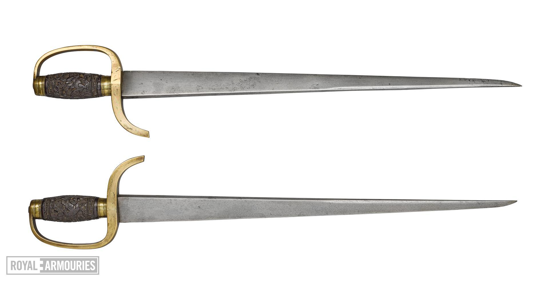 Pair of butterfly knives (hodiedao) XXVIS.70