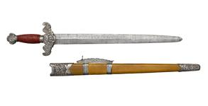Thumbnail image of Sword (jian) and scabbard XXVIS.170