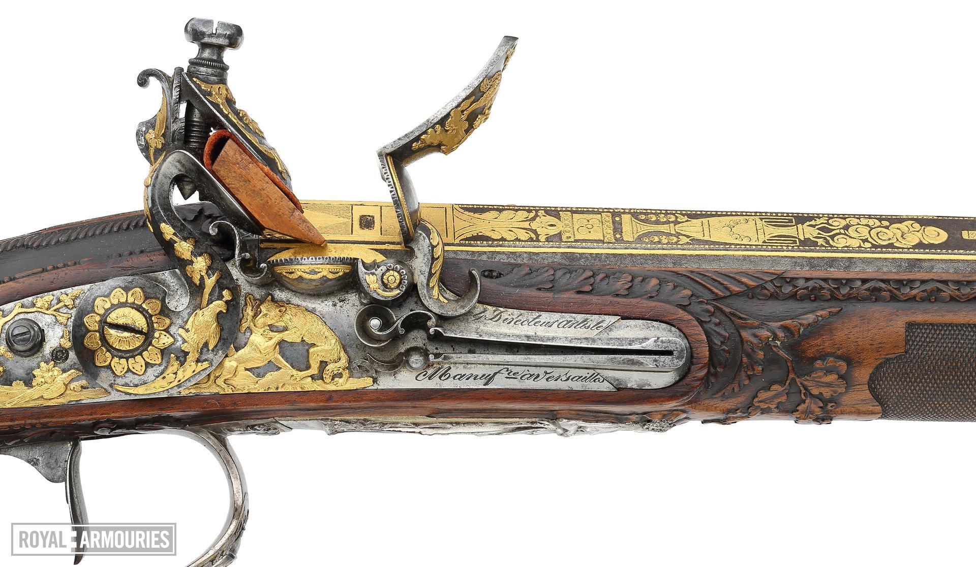 Flintlock muzzleloading gun By Nicholas Noel Boutet. XII.1278