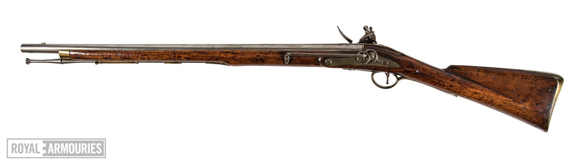 Flintlock muzzle-loading military carbine - Eliott Light Dragoon Carbine