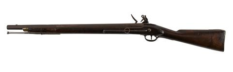 Thumbnail image of Flintlock military carbine - Pattern 1796 Heavy Dragoon Carbine With Nock's lock.