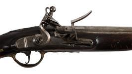 Thumbnail image of Flintlock muzzle-loading pistol - Model 1789 (conversion) Flintlock muzzle-loading pistol, Model 1789 (conversion), about 1789.