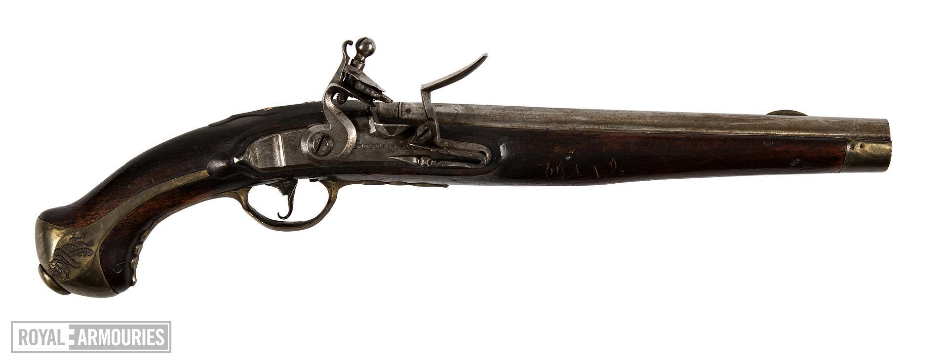 Flintlock muzzle-loading pistol - Model 1789 (conversion) Flintlock muzzle-loading pistol, Model 1789 (conversion), about 1789.