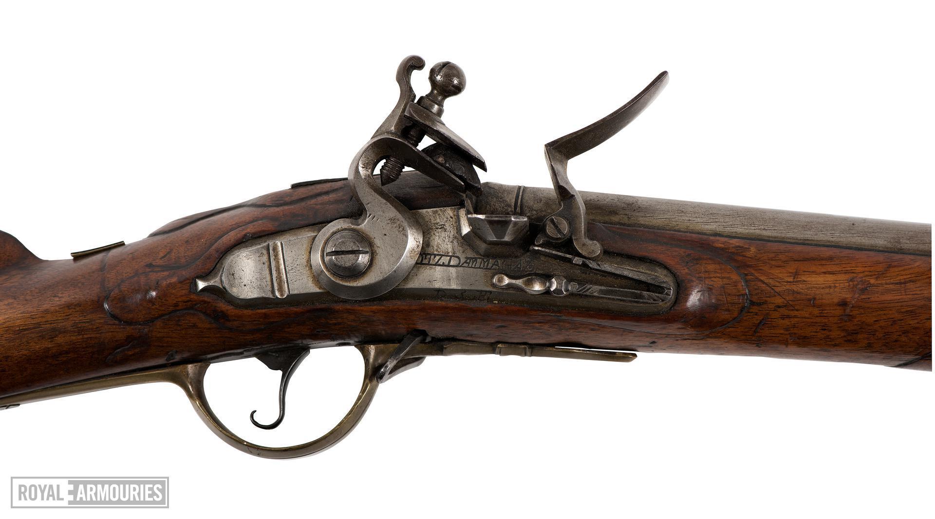 Flintlock muzzle-loading military rifle-musket - Fusillier Model 1787 (Modified in 1796)