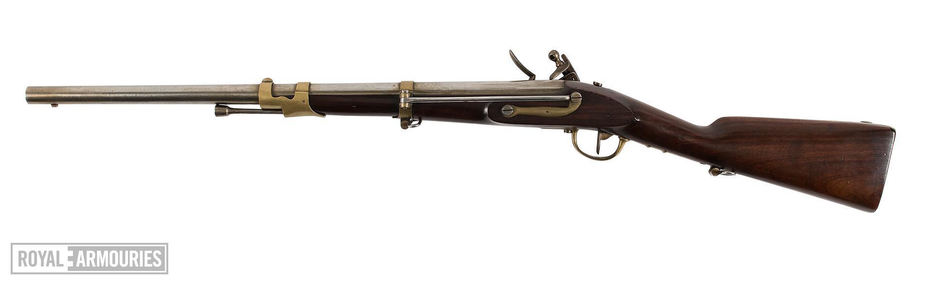 Flintlock muzzle-loading carbine - Cavalry Type