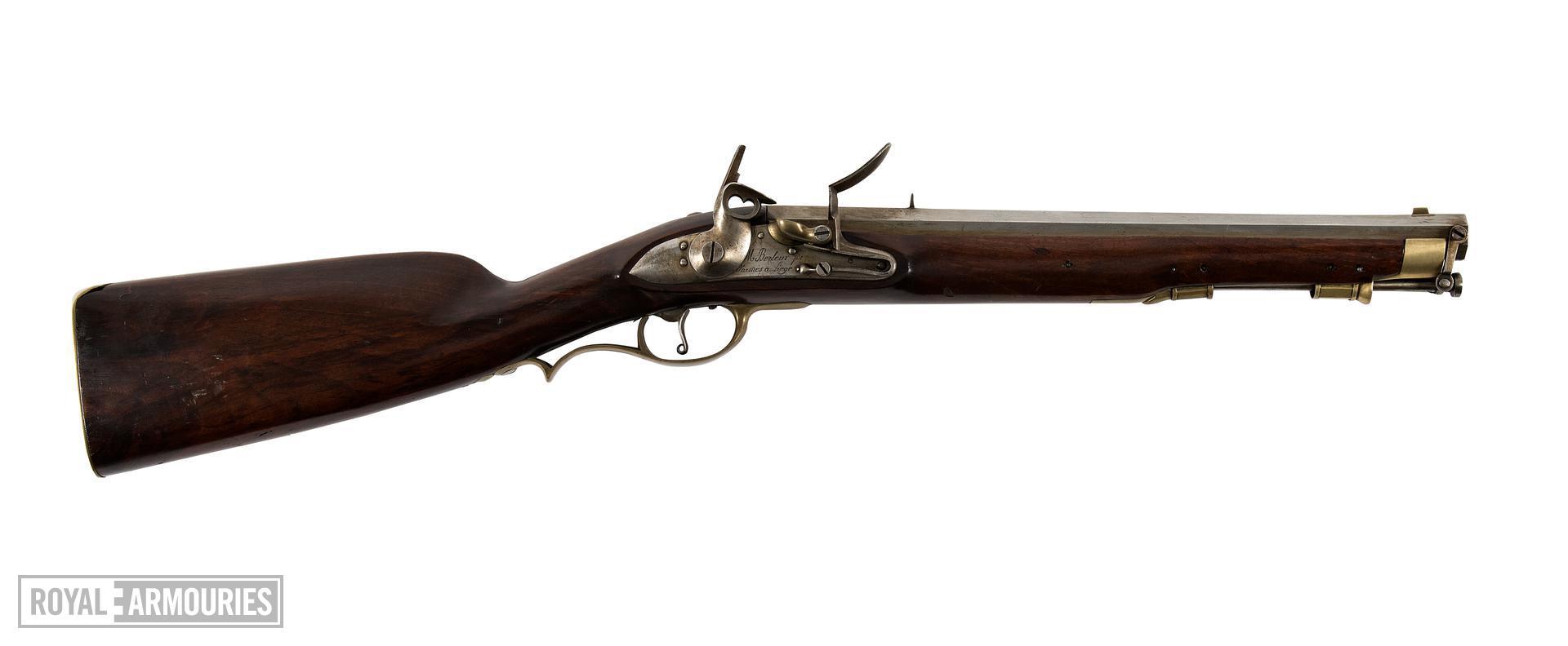 Flintlock muzzle-loading carbine - Carbine By Berleur