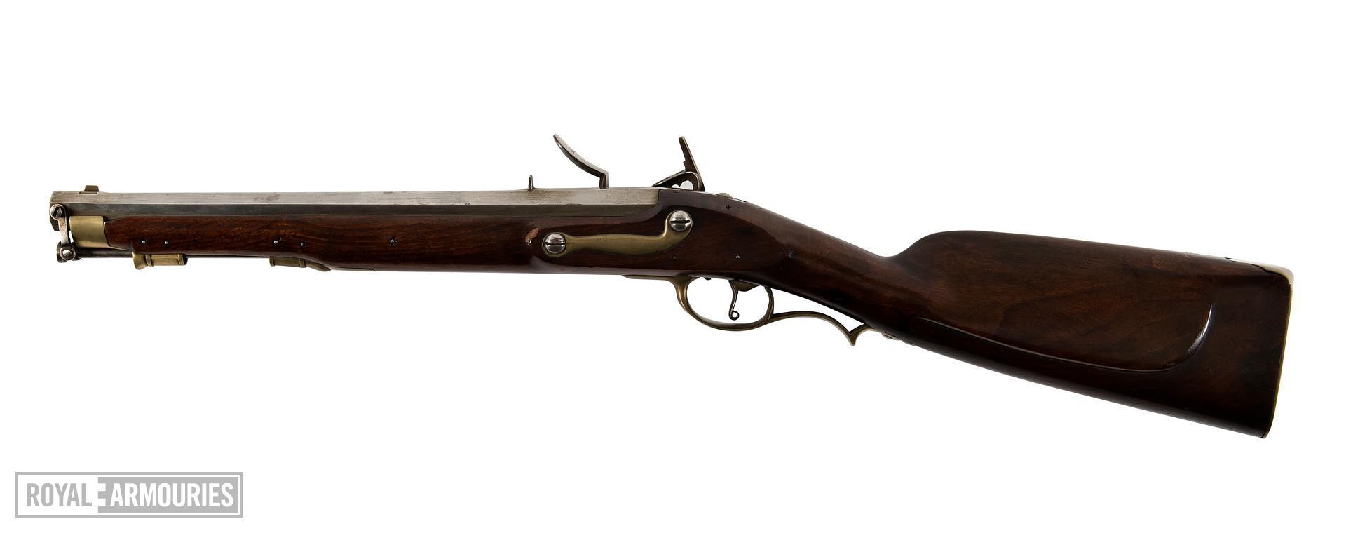 Flintlock muzzle-loading carbine - Carbine