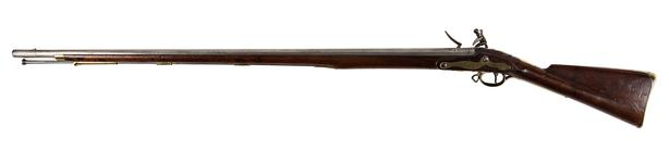 Thumbnail image of Flintlock muzzle-loading cavalry carbine - Pattern 1770 Heavy Dragoon Carbine Short model. Missing cock