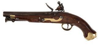 Thumbnail image of Flintlock muzzle-loading cavalry pistol - New Land Pattern Pistol