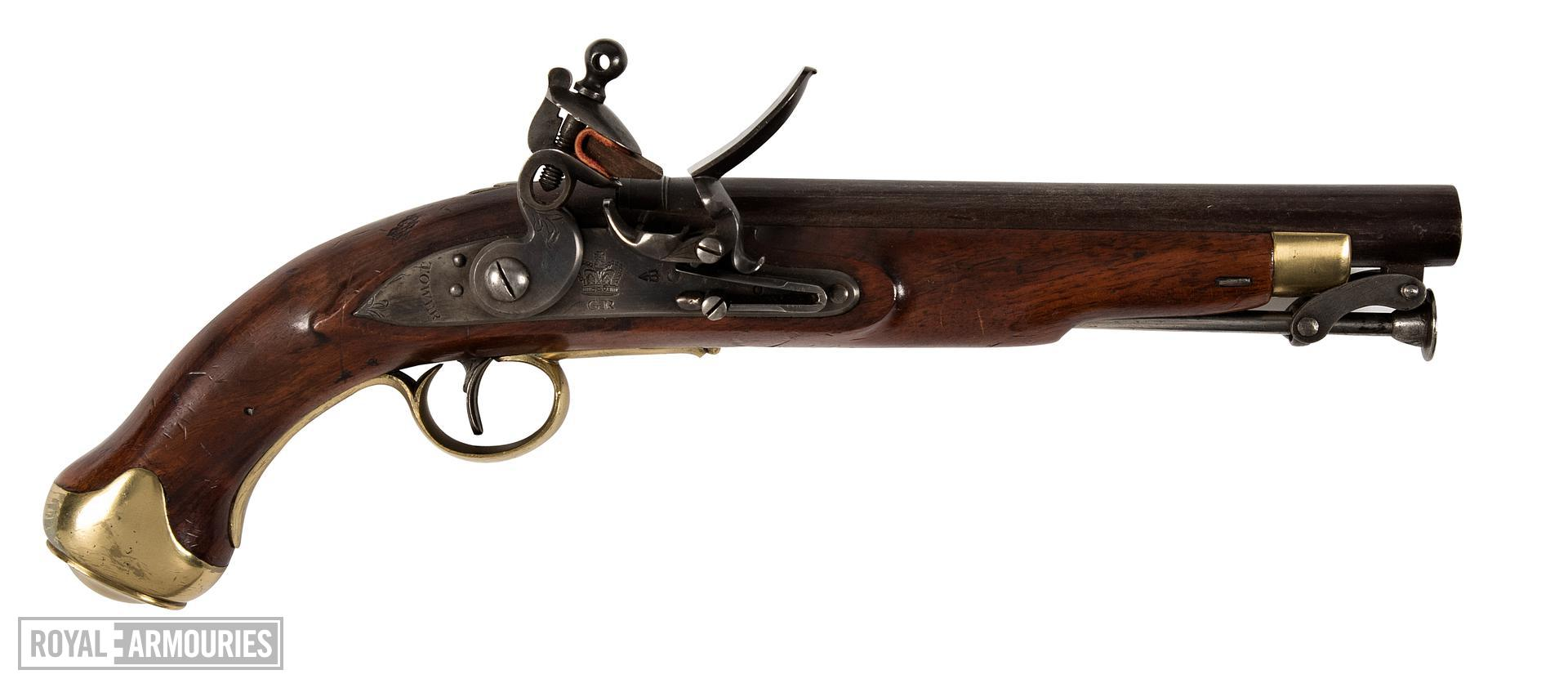 Flintlock muzzle-loading cavalry pistol - New Land Pattern Pistol