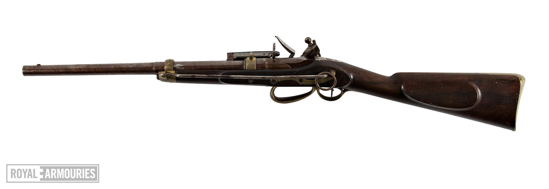 Flintlock breech-loading carbine - Sartoris Mk. III Carbine It was originally suggested that this carbine was from about 1810, however these carbines were not produced until 1817.