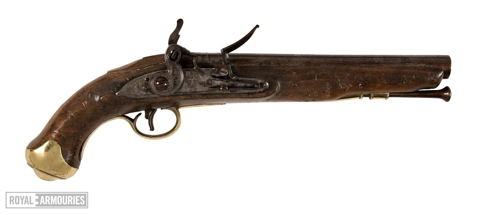 Flintlock pistol - Light Dragoon Pistol Pattern 1804 Kings German Legion Model