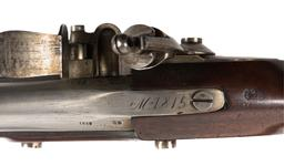 Thumbnail image of Model 1815 flintlock military musket, dated 1818, Netherlands (XII.2509)