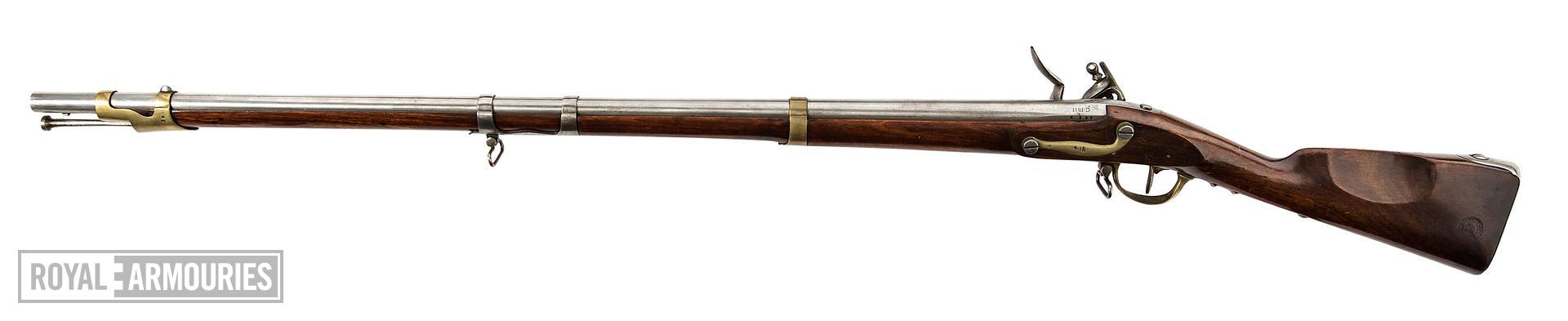 Model Year IX Flintlock military carbine for Dragoons, about 1811, France (XII.2658)