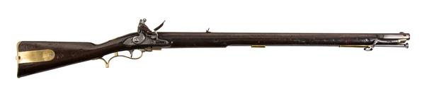 Thumbnail image of Model 1805 Baker muzzle-loading rifle, Britain, about 1812, by I.Gill (XII.3495)