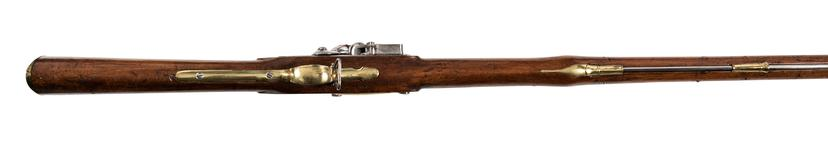 Thumbnail image of Flintlock muzzle-loading military musket, England, about 1800 (XII.6755)