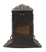 Thumbnail image of Cartridge box Brunswick type. Wooden core with embossed ferrous metal body. XIII.37
