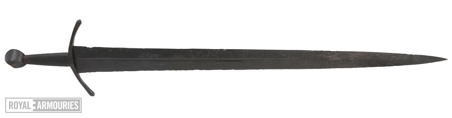 Sword. Oakeshott type XIV. IX.2141