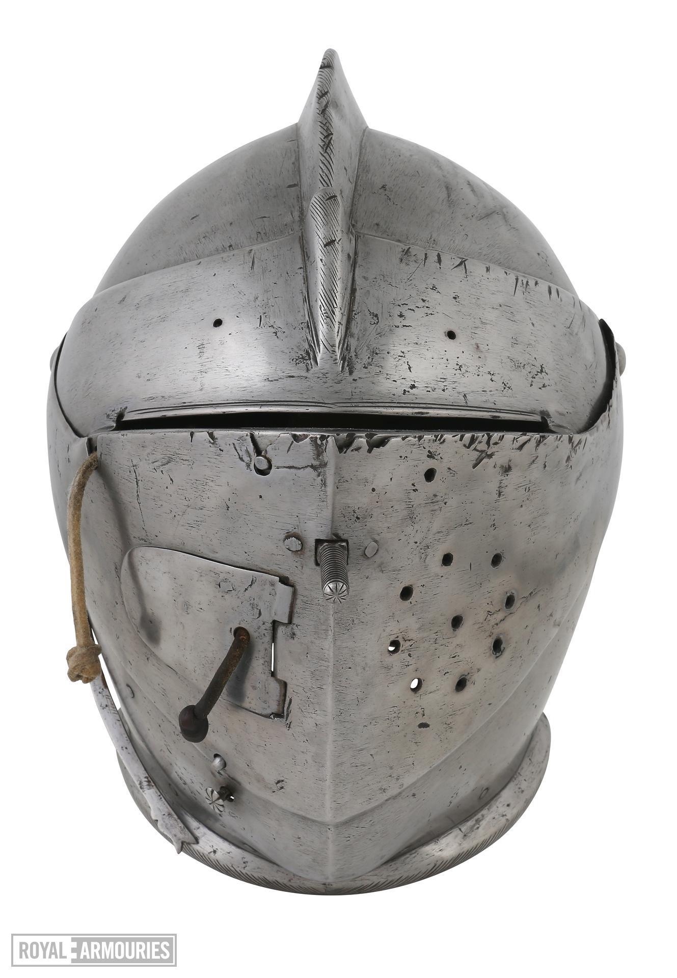 Close helmet For field or tournament German. IV.539