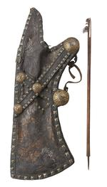Thumbnail image of quiver and arrow, 17th/18th century. XXVIB.188
