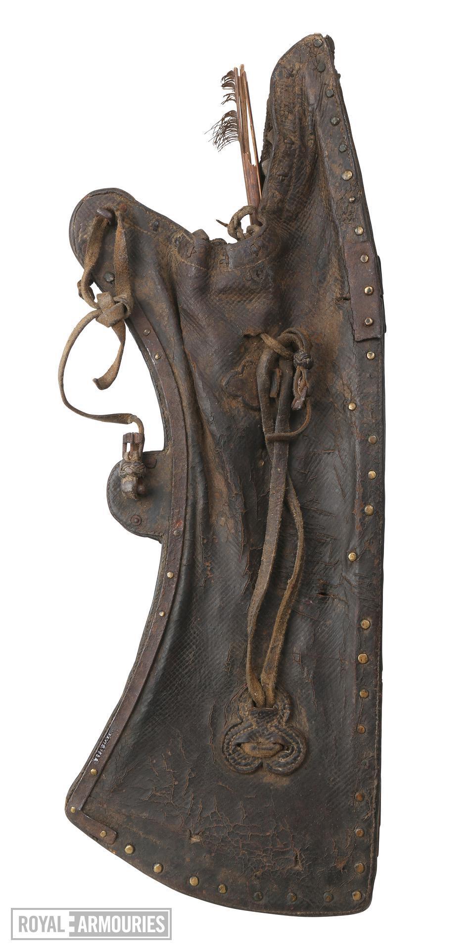 quiver and arrow, 17th/18th century. XXVIB.188