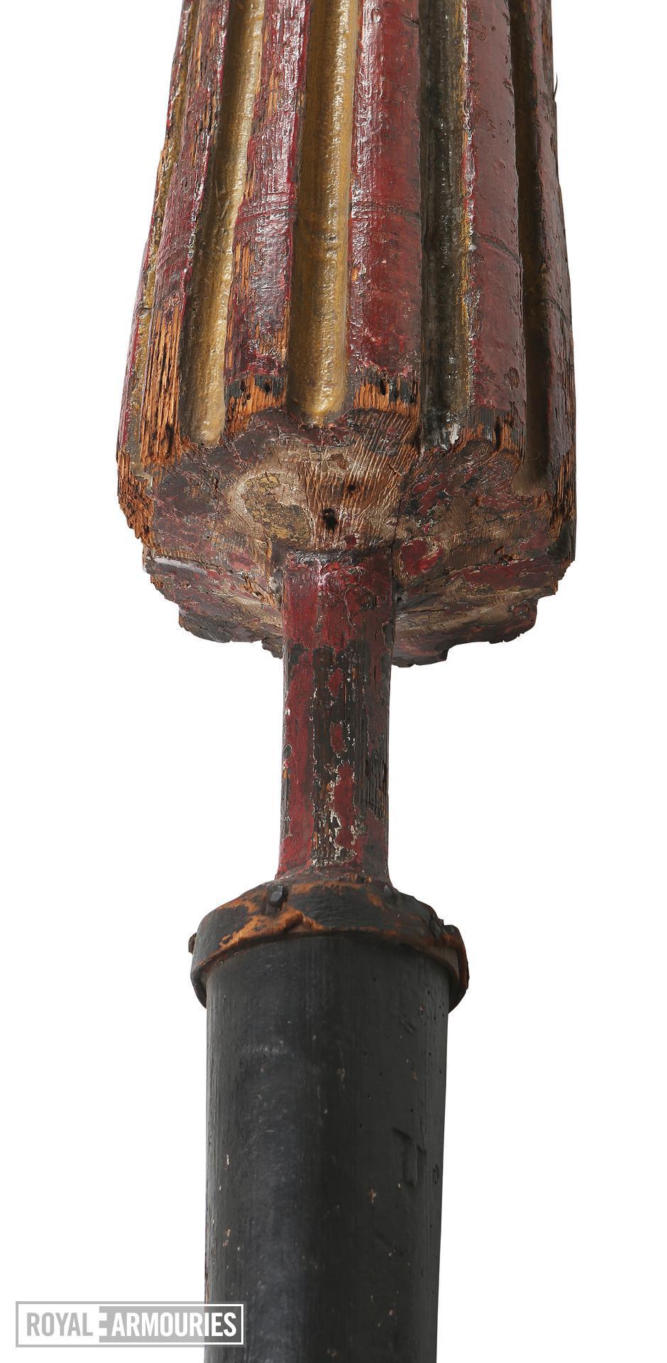 Jousting lance. 'Brandon's lance.' VII.550