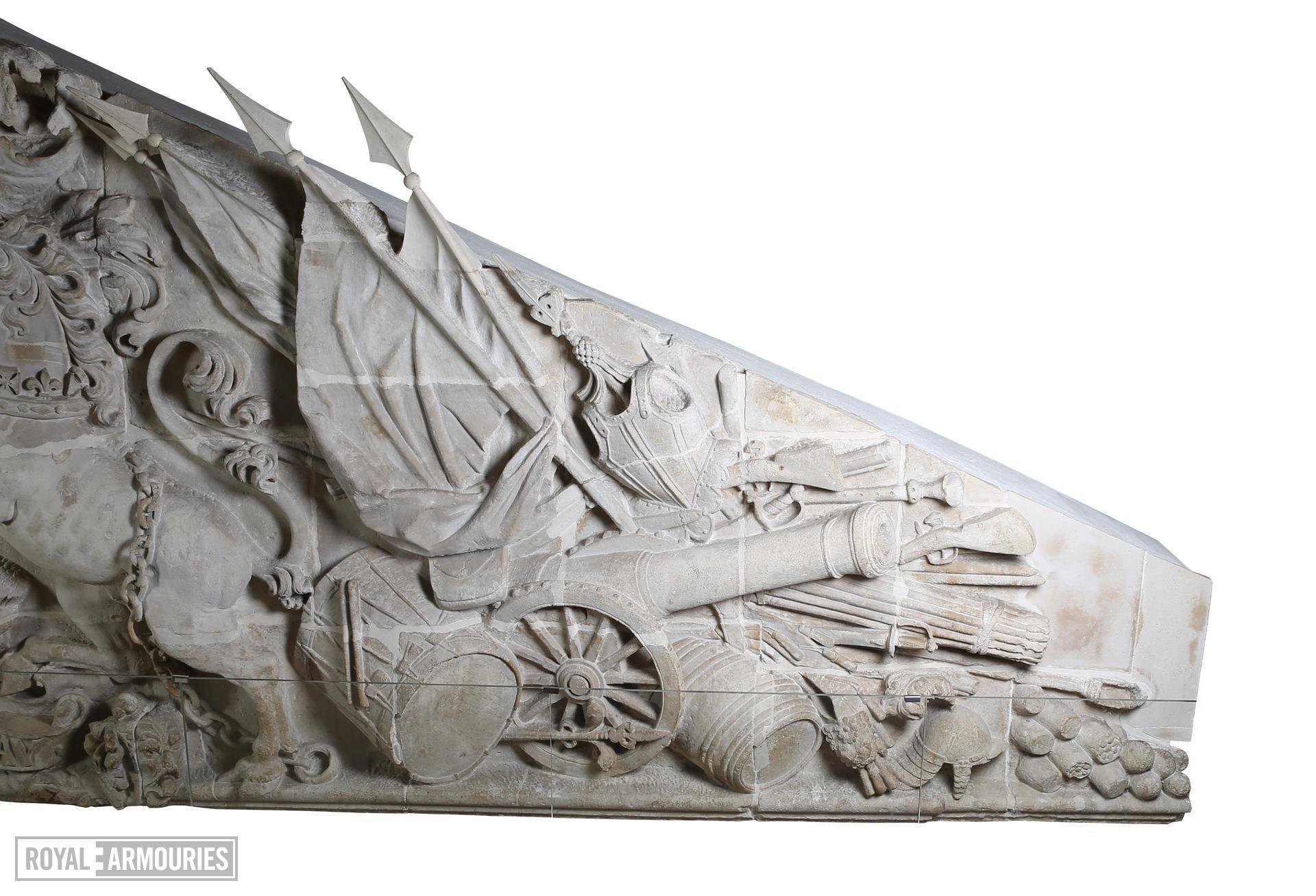 Grand Storehouse tympanum. XVII.119