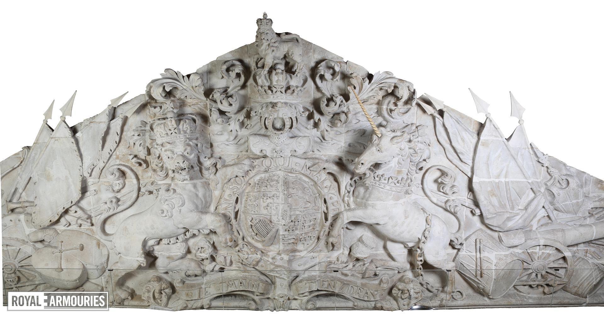 Grand Storehouse tympanum