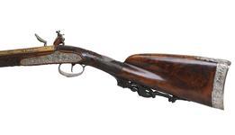 Thumbnail image of Flintlock muzzleloading gun By Nicholas Noel Boutet. XII.1278