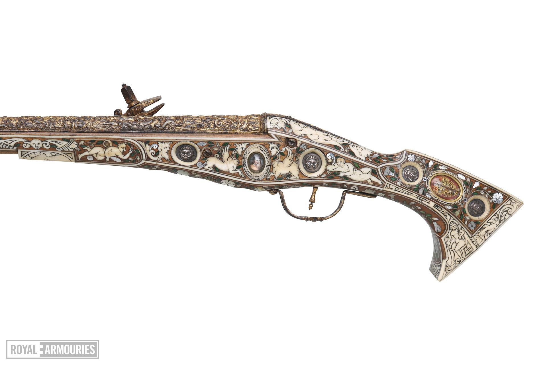 Wheellock pistol - 'Forget-me-not'