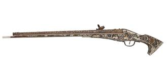 Thumbnail image of Wheellock pistol known as the 'Forget-me-not' pistol. XII.1764