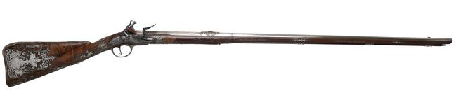 Thumbnail image of Flintlock sporting gun XII.1690