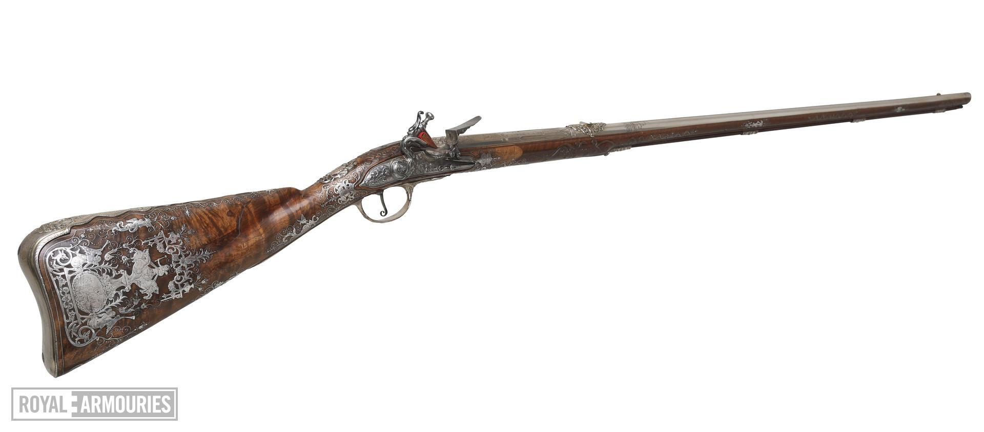 Flintlock sporting gun XII.1690