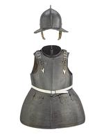 Thumbnail image of Pikeman's armour. Consists of: helmet, gorget, breastplate, tassets and backplate. II.365 A-E