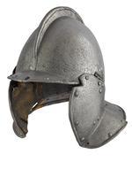 Thumbnail image of Burgonet for heavy siege. IV.479
