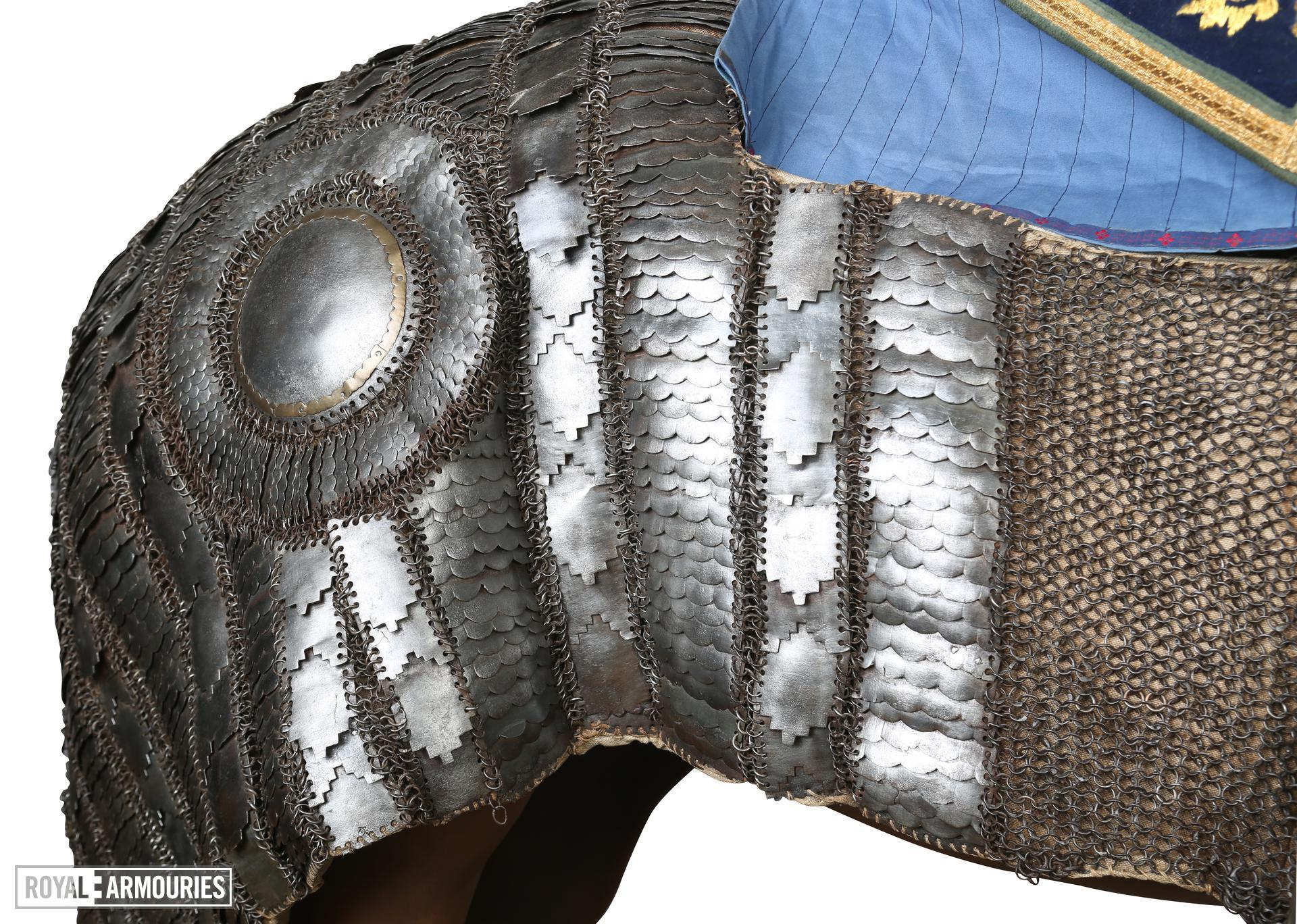 Horse armour (bargustawan) early 17th century. XXVIH.18